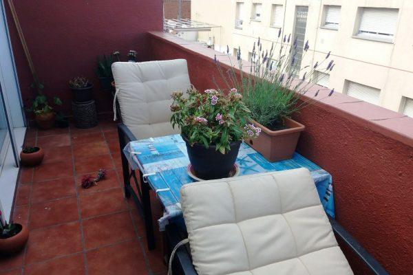 Ref.: 01234 – Piso de 2hab con terraza